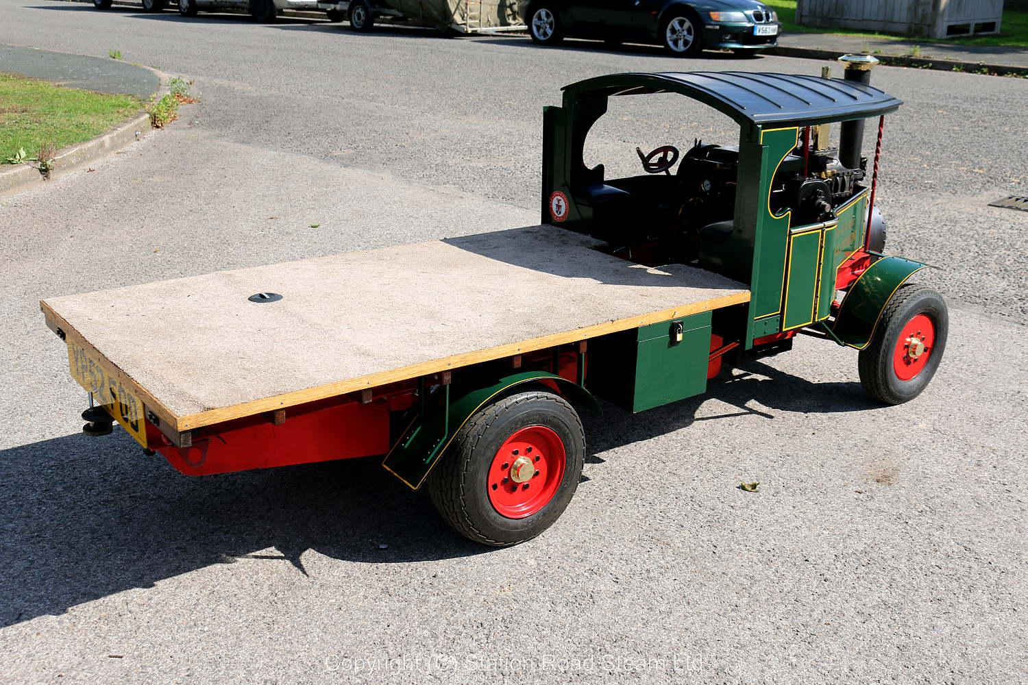 4 1/2 inch scale Foden steam lorry