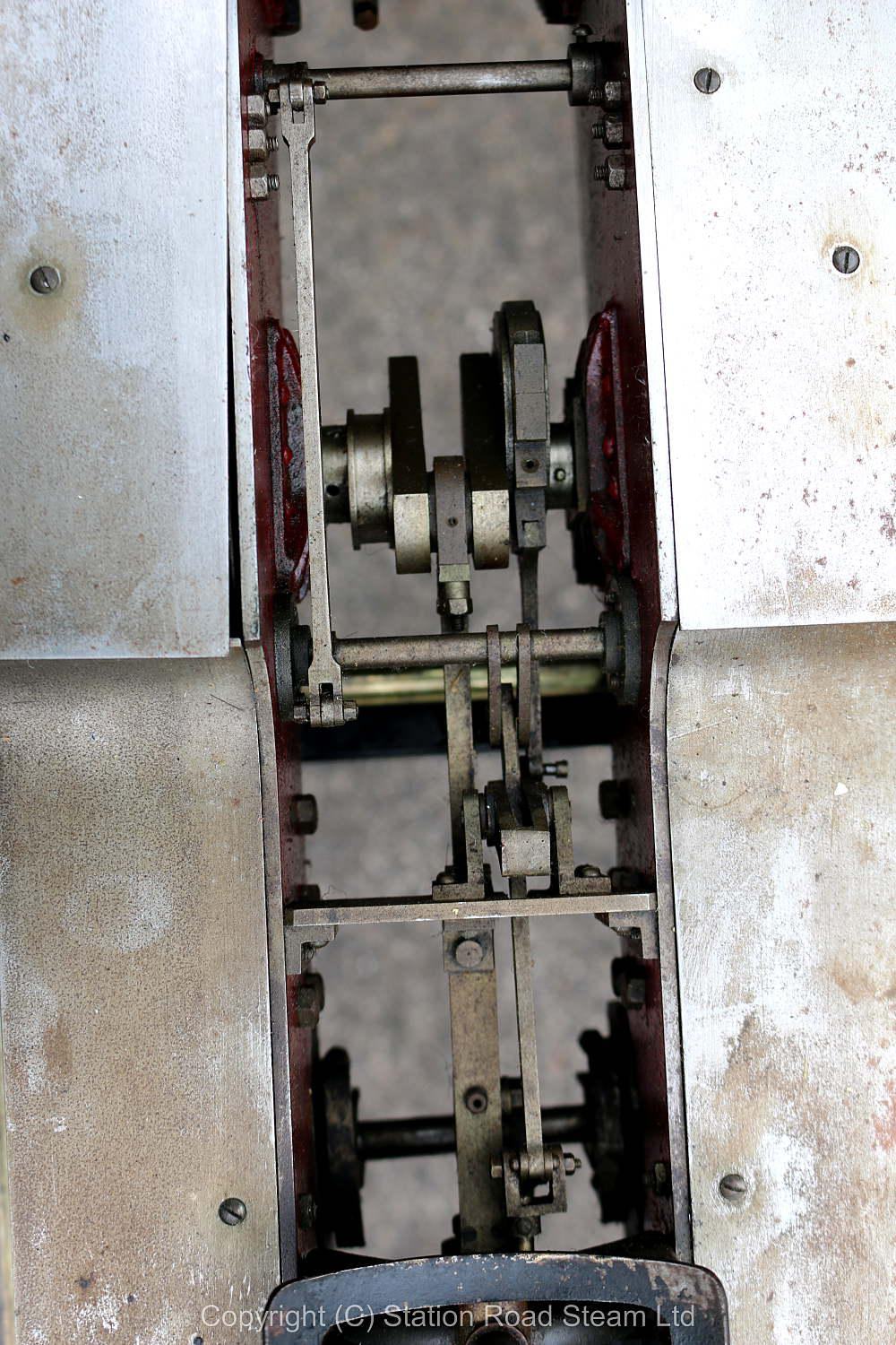 Part-built 3 1/2 inch gauge Hielan Lassie