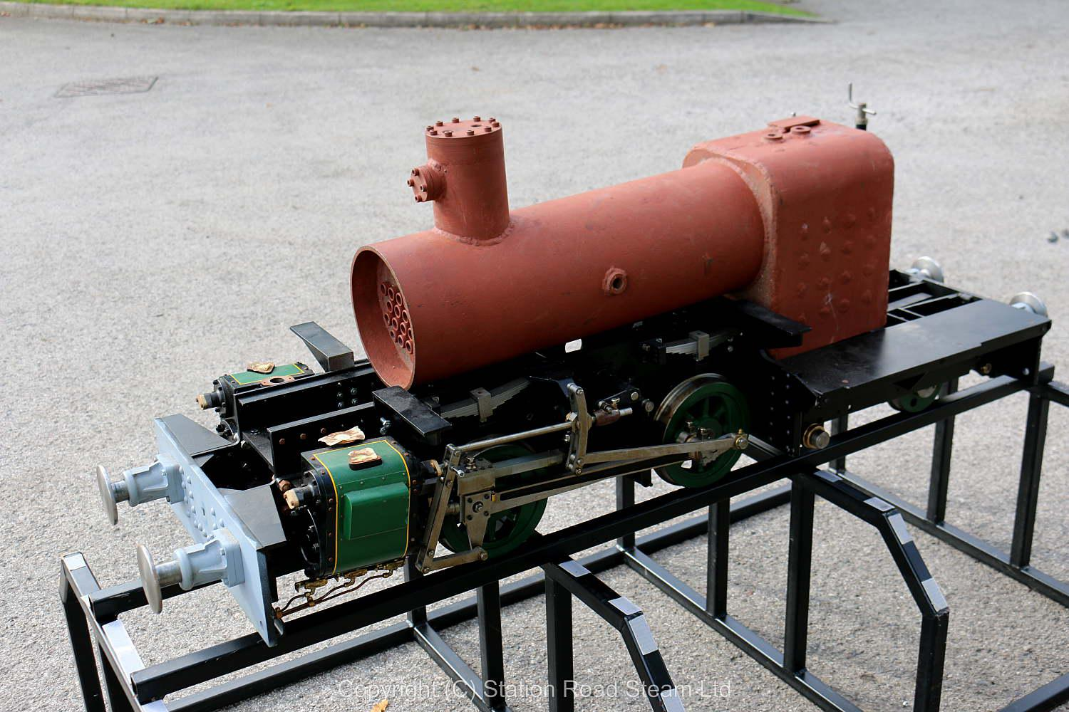 Part-built 7 1/4 inch gauge Talyllyn Railway No.7