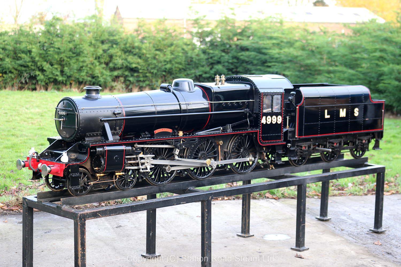 7 1/4 inch gauge LMS Black 5 - Stock code 7592