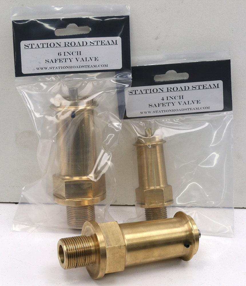 1/2 inch BSP progressive lift safety valve