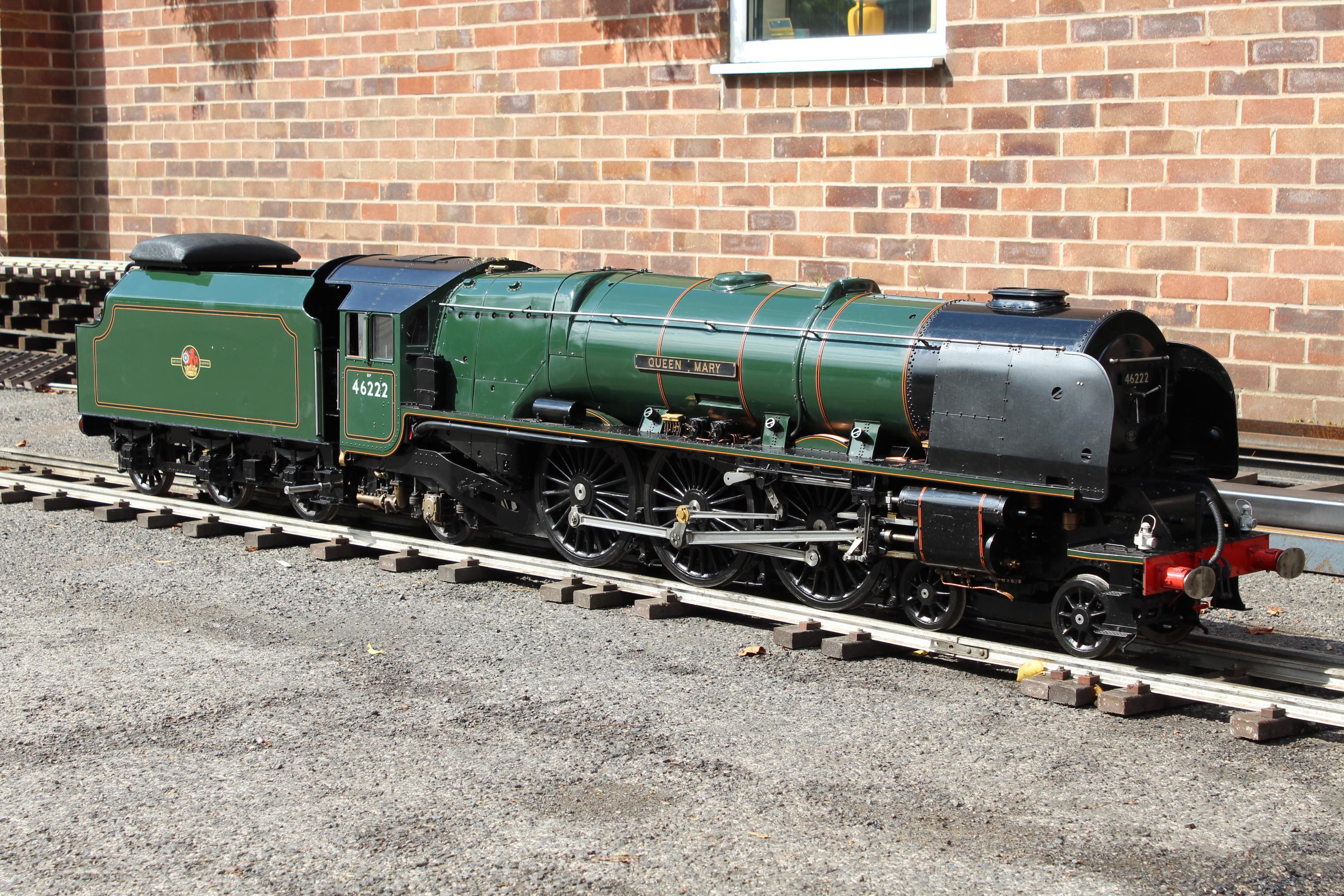 7 1/4 inch gauge LMS Duchess