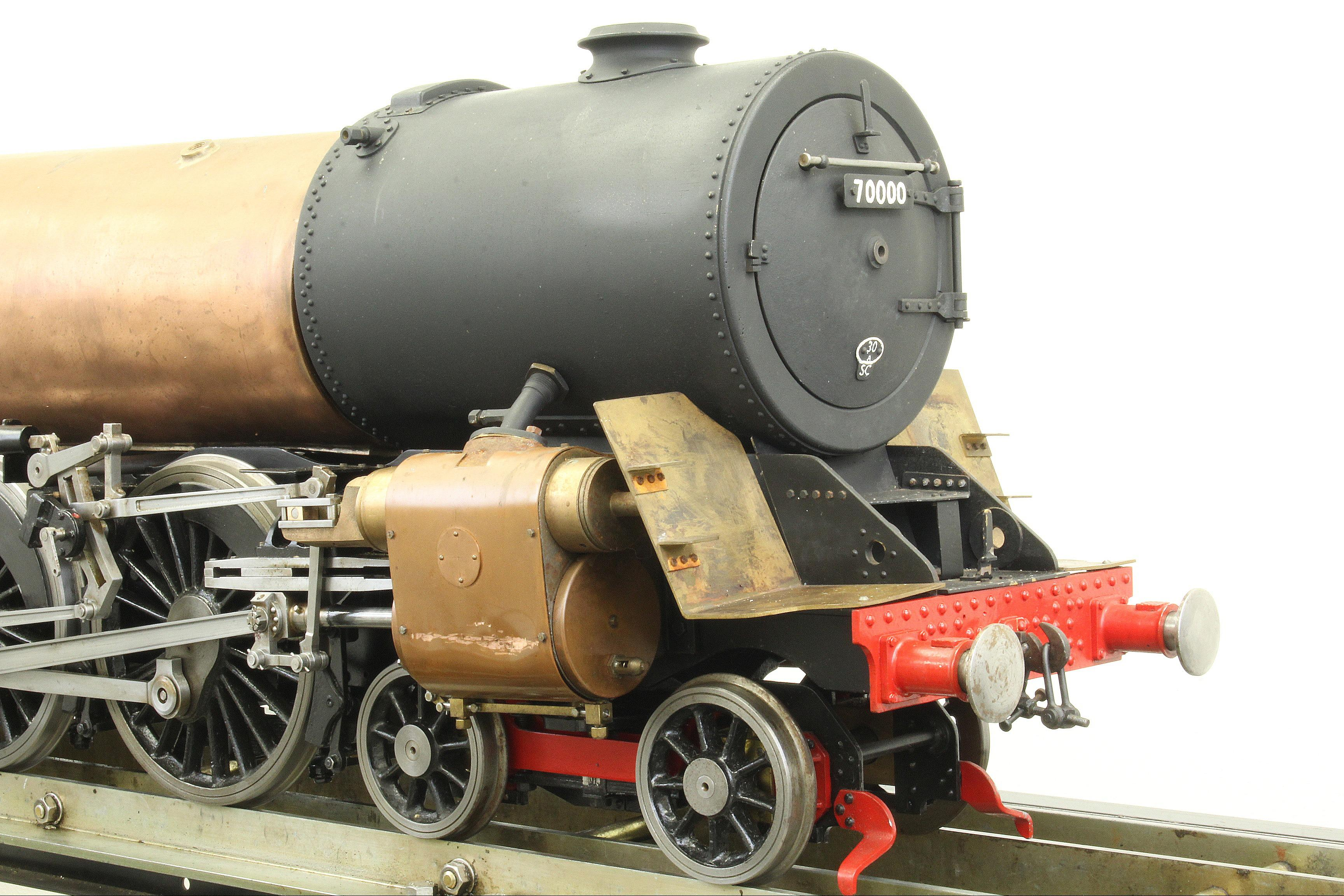 "Part-built 5 inch gauge ""Britannia"" with commercial boiler"
