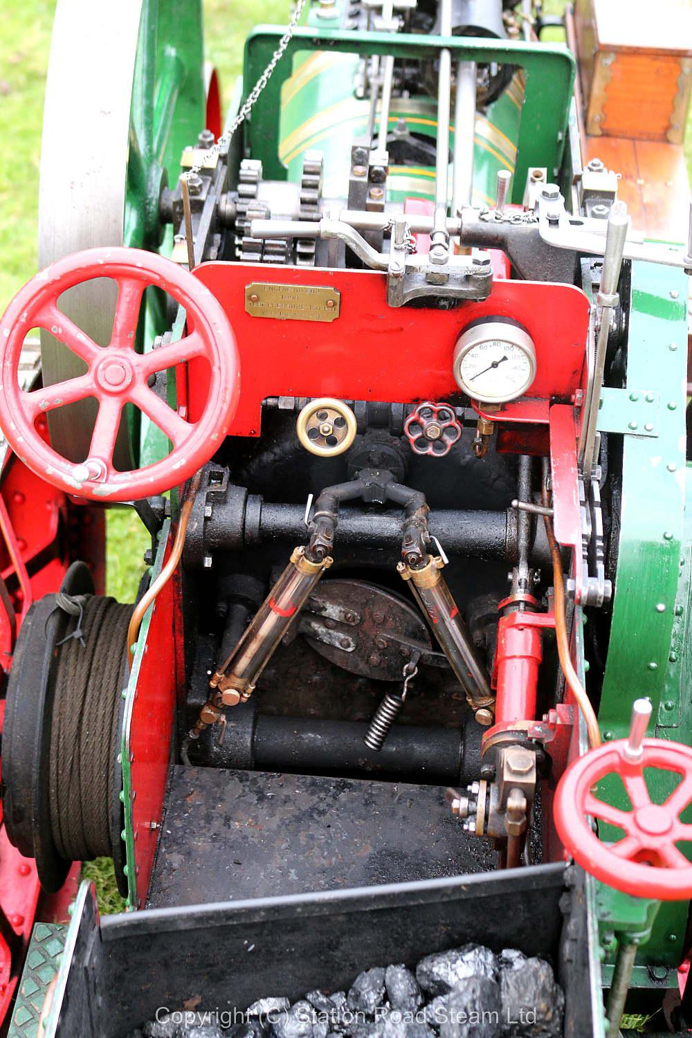 4 inch scale Foster agricultural engine