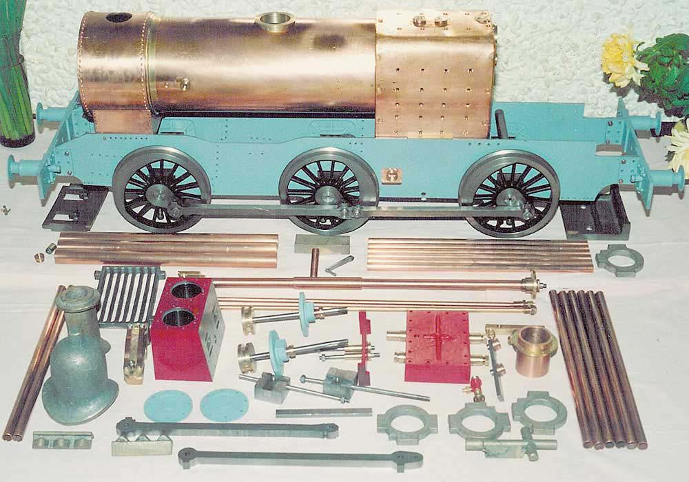 5 inch gauge LMS 0-6-0 3F build - stock code 2415